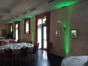 Hochzeit Burg Obbendorf Uplight DJ Cristallussaal